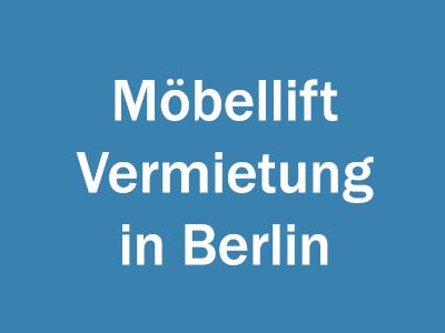 Möbellift Vermietung in Berlin